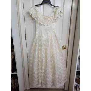 Vintage 50's lace dress